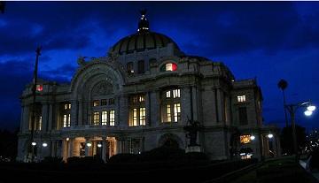 Sala principal del Palacio de Bellas Artes de México es reinaugurada