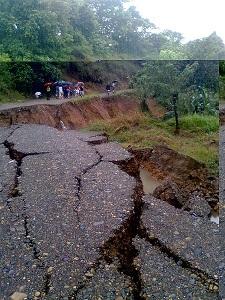 Más de 25 muertos en Costa Rica a causa de las inundaciones y avalanchas