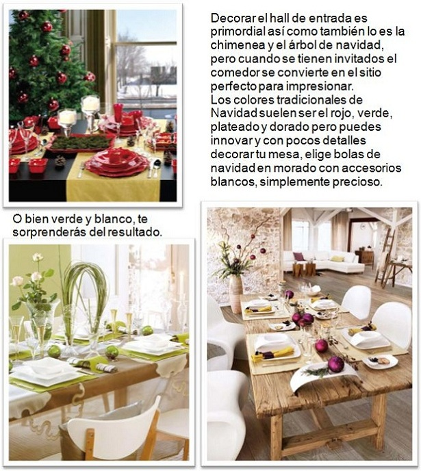 Ideas para decorar la casa en navidad - Ideas decorar casa ...