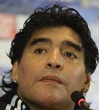 Maradona podría encabezar la selección de fútbol de Irán