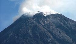 Nueva erupción del Volcán Marapi en Indonesia