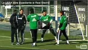 La UEFA abre expediente al Real Madrid