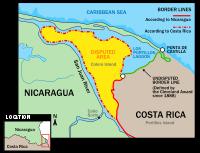 Costa Rica y Nicaragua en La Haya