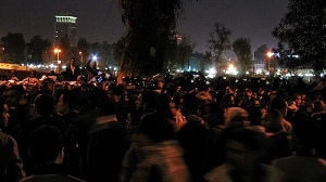 Toque de queda en Egipto