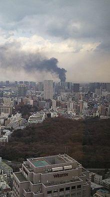 Efecto del terremoto en Tokio