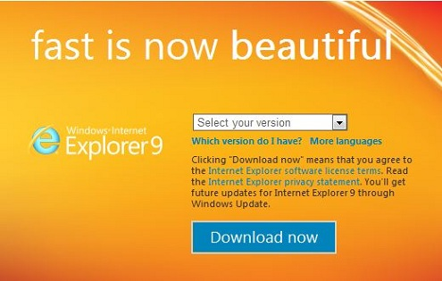 Internet Explorer 9 y las web apps