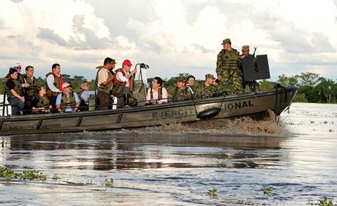 Intensas lluvias azotan Sudamérica
