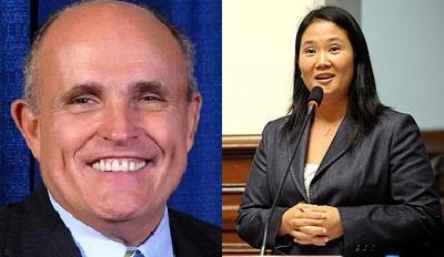 Giuliani une fuerzas con Fujimori