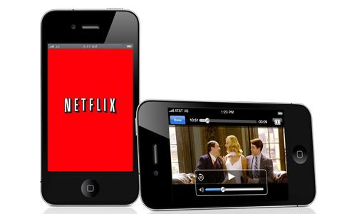 Netflix transmite en Android