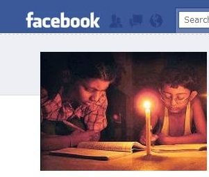 Usuarios de Facebook leen noticias