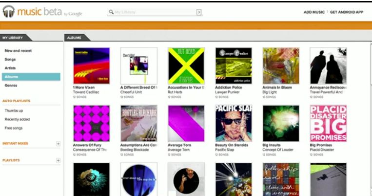 Google anuncia Music Beta