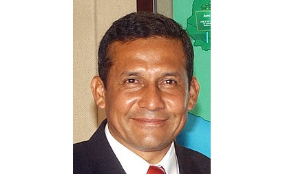 Visita de Humala a Chávez