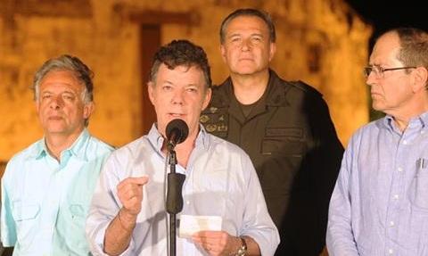 Colombia: Santos se recupera exitosamente