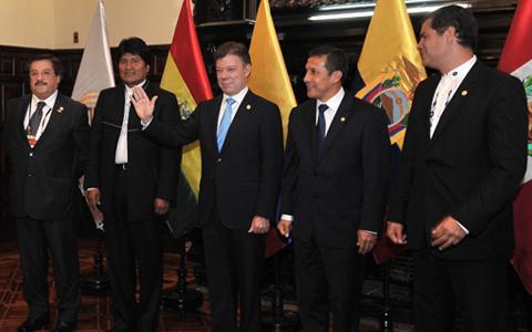 Reunión de la Comunidad Andina