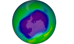 Satélites detectan formación del agujero de ozono sobre la Antártida