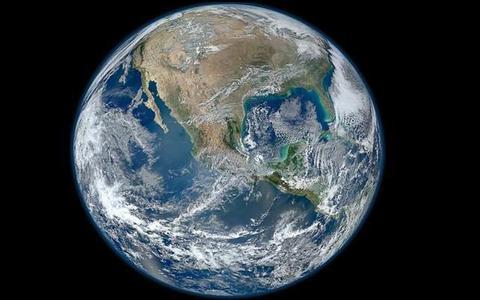 Sorprendente foto de la Tierra