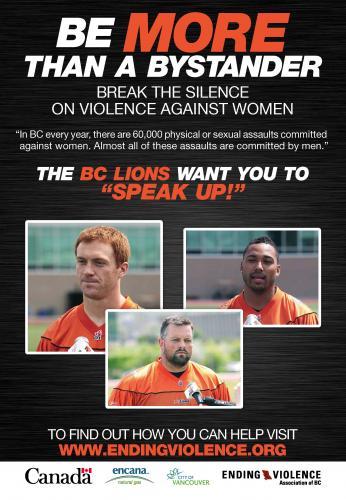 Campaña contra la violencia femenina