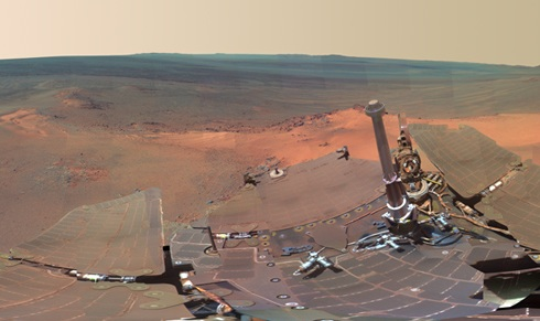 La NASA divulga la imágen más fiel de Marte