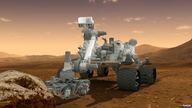 La NASA busca señales de vida en Marte
