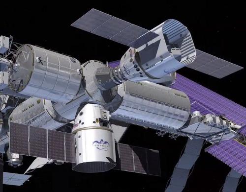 """El """"Dragón"""" se acopla a la estación espacial"""