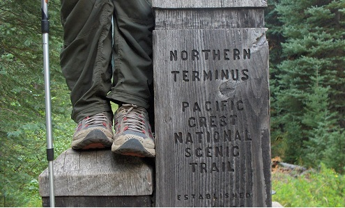 Joven caminó 4.723 km desde México a BC