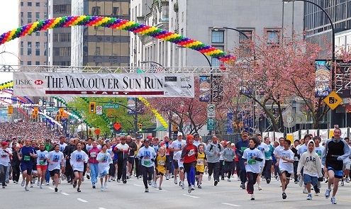 Vancouver Sun Run:  Aumentan inscripciones en solidaridad con Boston
