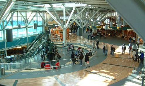 Aeropuerto de Vancouver es número uno en Norte América