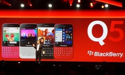 BlackBerry anuncia su nuevo teléfono Q5