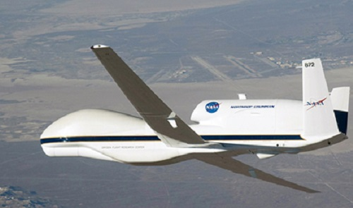 La NASA usa drones para estudiar huracanes