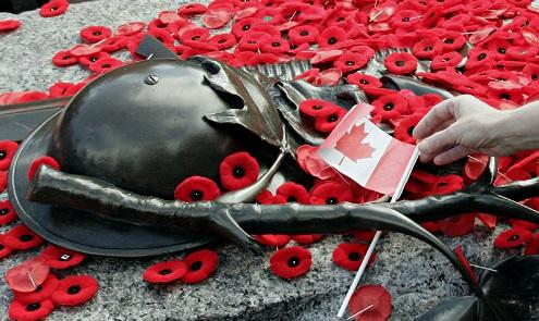 Día de los veteranos de guerra en Metro Vancouver
