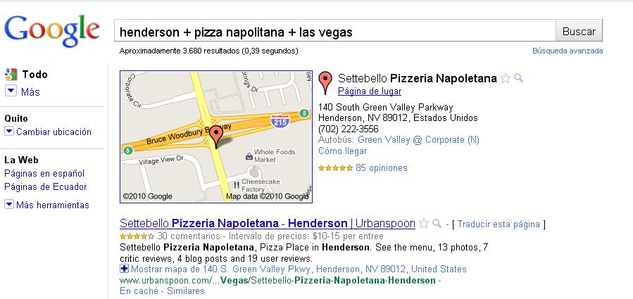"""¿Qué significa """"Local Search"""" y para qué sirve?"""