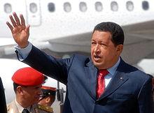Chávez en Bolivia