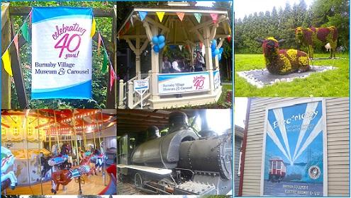 Diviértase gratis: Burnaby Village Museum & Carousel