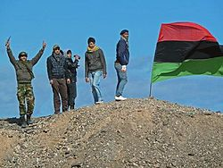 Libia: Moammar Gadhafi planea huida
