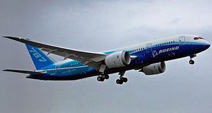 El Dreamliner de Boeing a Japón