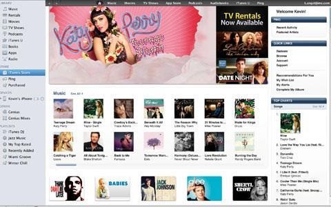 iTunes llega a las nubes