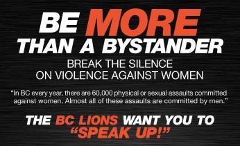 Campaña contra la violencia femenina – Sé más que un espectador