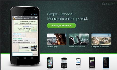WhatsApp desplaza a los SMS