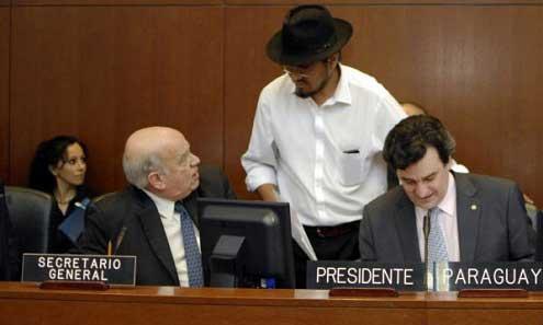 OEA aprueba resolución de solidaridad a Bolivia