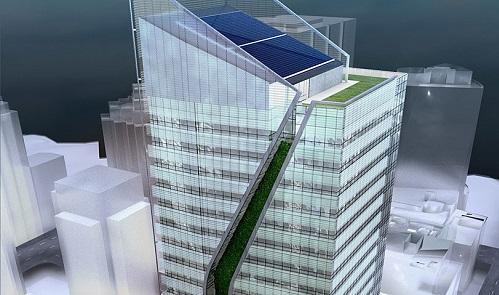 Vancouver tendrá la torre más alta sustentable de oficinas